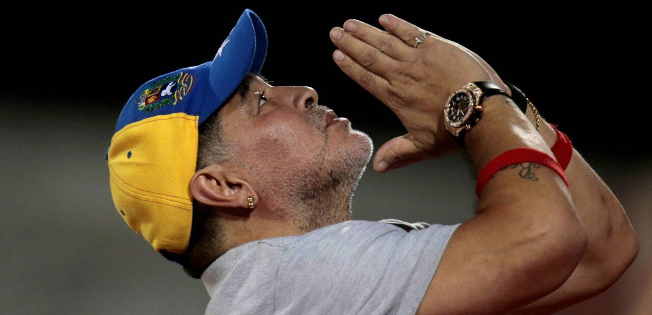 Maradona paternidad | Business Insider Mexico