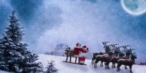 Aquí puedes ver la ruta de Santa Claus a través del mundo con ayuda de Google