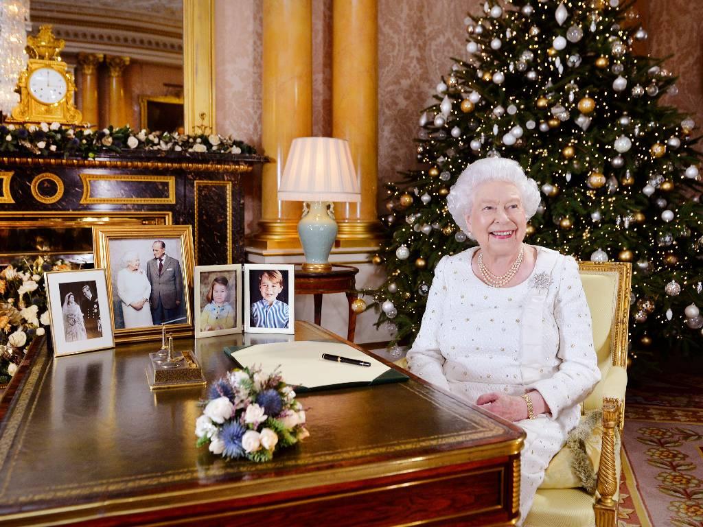 Navidad reina Isabel