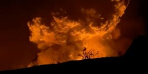 Volcán Kilauea entra en erupción en Isla Grande de Hawái