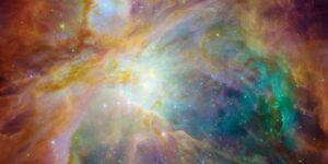 La NASA compartió algunos 'fuegos artificiales interestelares' para despedir al 2020