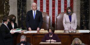 Donald Trump promete una transición en paz, luego de que el Congreso certificara la victoria de Joe Biden, horas después de la irrupción al Capitolio