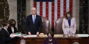 Mike Pence se opone a los intentos de invocar la Enmienda 25 para destituir a Donald Trump tras el asalto al Capitolio, según los asesores del vicepresidente