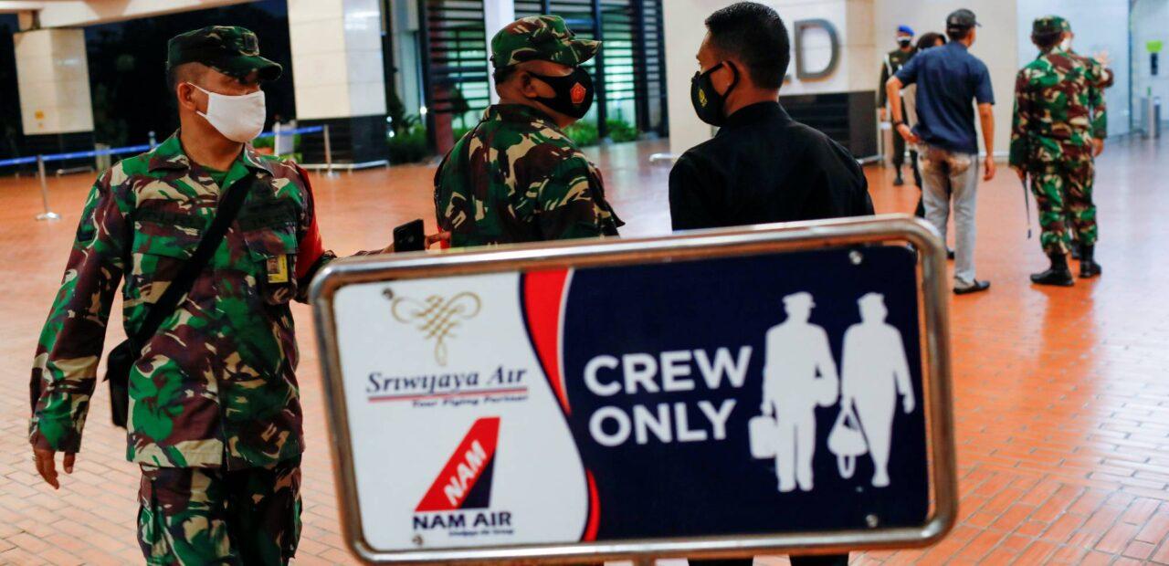 avión de Indonesia