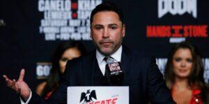 Óscar de la Hoya busca el consejo de Mike Tyson para regresar al ring —pelearía contra Gennady Golovkin