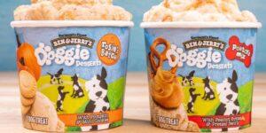 Ben & Jerry's ahora tiene 2 sabores hechos solo para perros