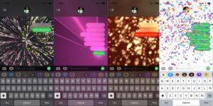 Descubre las palabras y frases que crean efectos especiales en los mensajes de texto de tu iPhone
