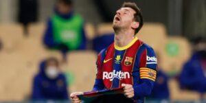 """Lionel Messi se llevó su primera tarjeta roja en 753 partidos con el FC Barcelona —y los """"culés"""" perdieron su primer título del año ante el Athletic"""