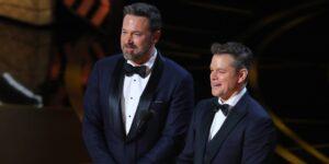 Matt Damon y Ben Affleck han sido cercanos desde que eran niños. Esta es una cronología de su amistad.
