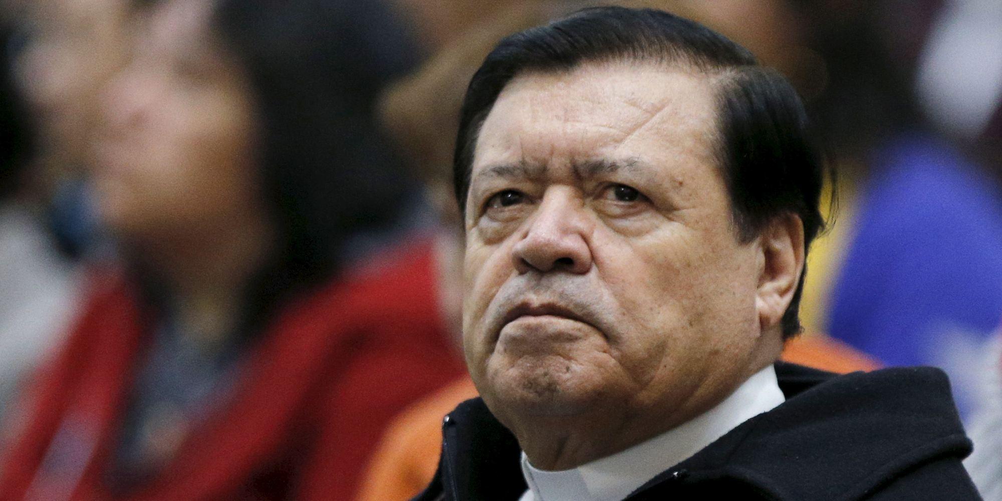 El cardenal Norberto Rivera Carrera recibe la extremaunción