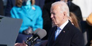 Así fue el primer mensaje de Joe Biden como presidente de Estados Unidos