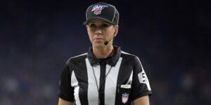 Sarah Thomas se convertirá en la primera mujer en oficiar un Super Bowl