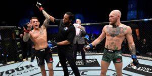 La UFC dio a Dustin Poirier un bono en efectivo de 50,000 dólares por noquear a Conor McGregor
