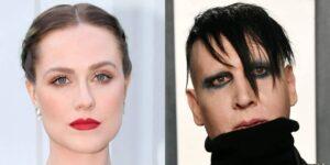 Evan Rachel Wood acusa a su exprometido Marilyn Manson de «acicalarla» y abusar de ella