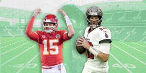 Esto es lo que debes saber sobre el duelo entre Patrick Mahomes y Tom Brady en el Super Bowl LV