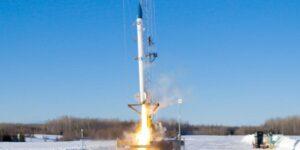bluShift, la startup que quiere convertirse en el 'Uber del espacio', lanza el primer cohete comercial impulsado por biocombustible