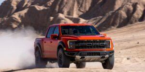 Ford acaba de renovar su camioneta más resistente y la diseñó con el estilo de un avión de combate