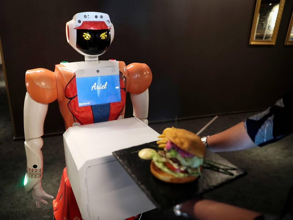 robots con IA