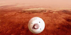 El rover Perseverance de la NASA está a punto de llegar a la superficie de Marte
