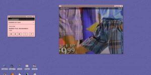 ¡Nostalgia! Esta página te brinda música de la década de los 90 y videos de la época bajo una interfaz basada en los Mac de ese periodo