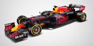 """Así luce el RB16B, el auto con el que Sergio """"Checo"""" Pérez competirá en la temporada 2021 de la F1"""