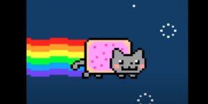 El meme del gato en forma de Pop-Tart volador, «Nyan Cat», se vende por más de 12 millones de pesos como arte criptográfico único en su tipo