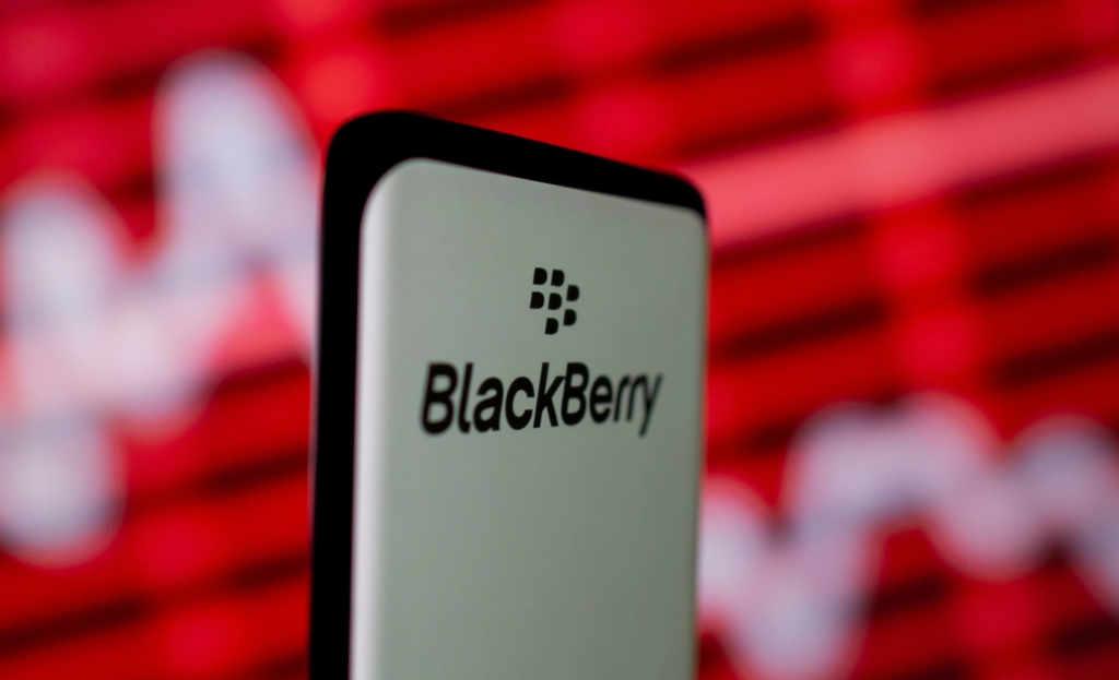 blackberry acciones