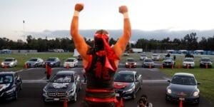 Personajes de la lucha libre retan a mexicanos a usar cubrebocas para abatir al Covid-19 en México