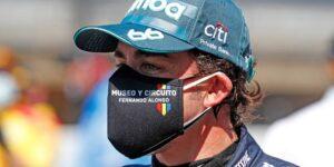 Fernando Alonso correrá toda la temporada 2021 de la F1 con placas de titanio en la mandíbula