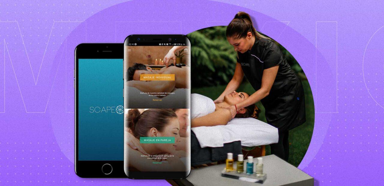 masajes aplicación