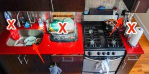 Los terapeutas comparten 6 cosas en tu cocina que podrían causarte estrés y cómo debes manejarlas
