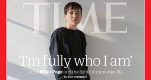 Elliot Page es el primer hombre trans en aparecer en la portada de la revista Time