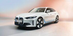 BMW presenta al i4, su primer sedán eléctrico con 530 caballos de fuerza y un alcance de 480 kilómetros