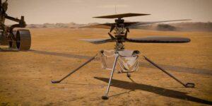 El rover Perseverance de la NASA se prepara para lanzar al helicóptero Ingenuity y verlo volar en Marte