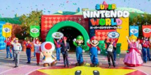 Super Nintendo World por fin abre sus puertas. Aquí tienes 5 cosas que puedes hacer en el parque, desde cabalgar en Yoshi hasta jugar al Mario Kart