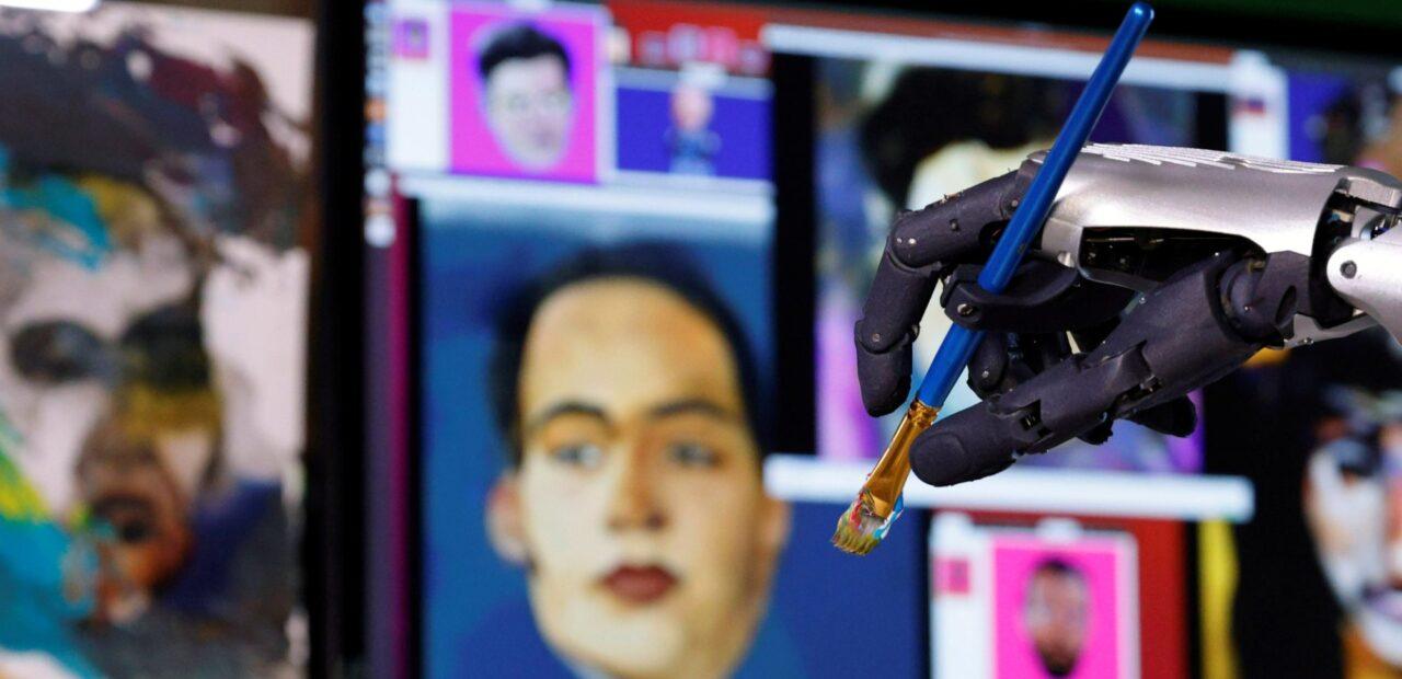 La robot humanoide Sophia subastará su primera obra de arte   Business Insider Mexico