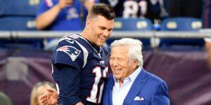 El dueño de los Patriots, Robert Kraft, está feliz por Tom Brady, aunque el quarterback se fue del equipo e inmediatamente ganó otro Super Bowl
