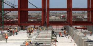 La industria de la construcción se estanca, según el Inegi —aún incluyendo datos del Aeropuerto Felipe Ángeles