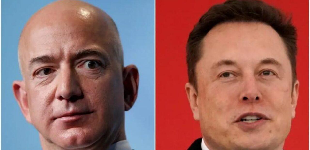 Después de esta fotografía, la relación de Musk y Bezos se perdió