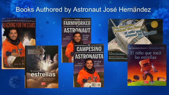 Libros José Hernández astronauta