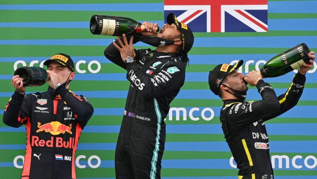 F1 podio