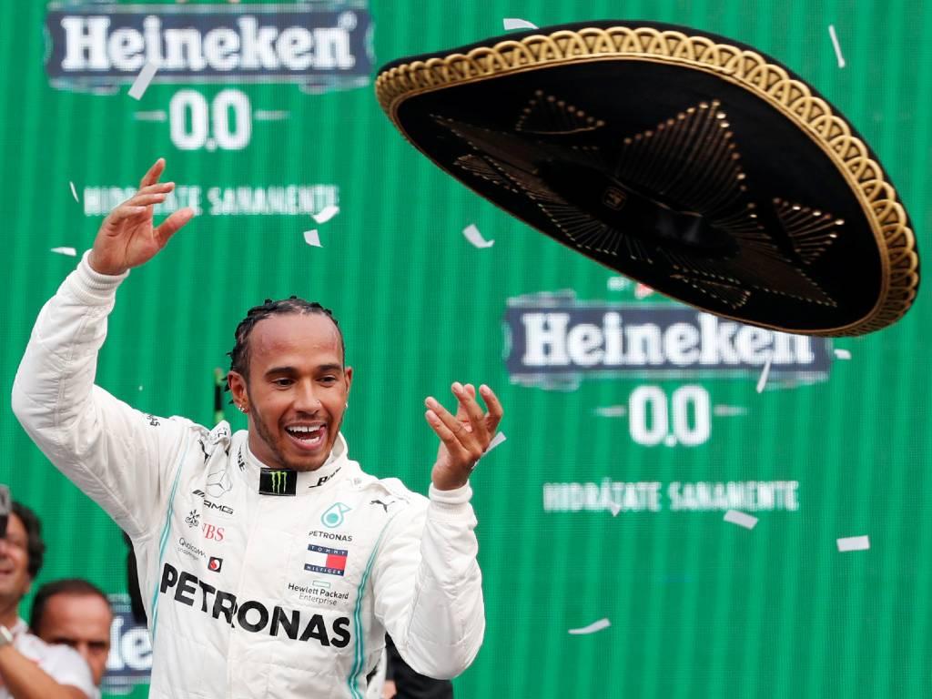 GP de México Hamilton