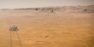 La prueba de vuelo del Ingenuity en Marte se realizará a inicios de abril