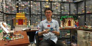 Este ávido coleccionista de Lego recrea con lujo de detalle las calles de su natal Vietnam