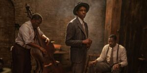 """Chadwick Boseman estaba tan abrumado por la emoción en una escena de """"La madre del blues"""" que necesitó de ánimo para poder continuar"""