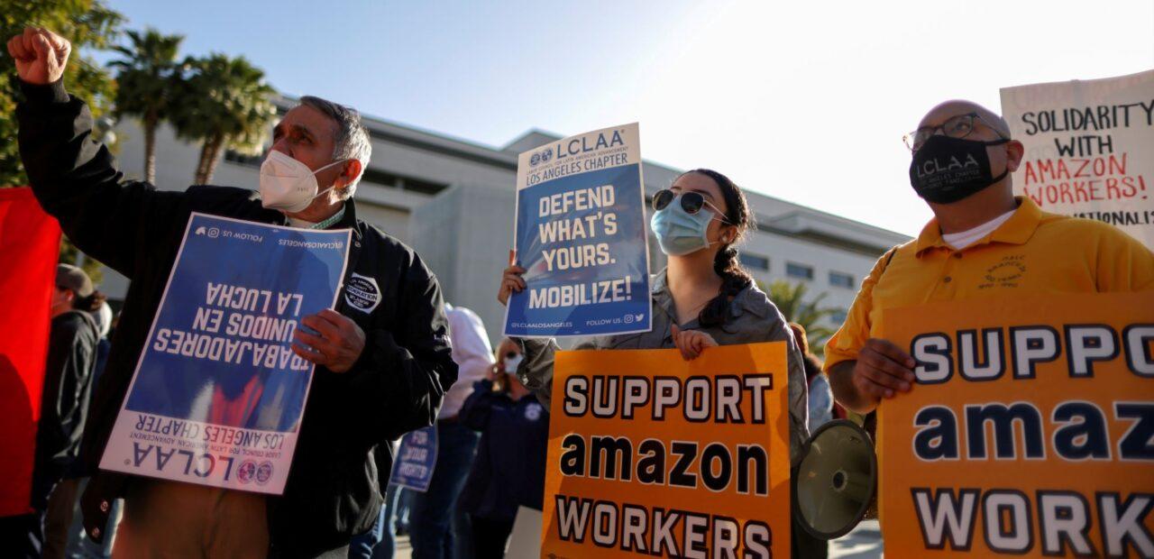 Los trabajadores de Amazon están bajo vigilancia y sin sindicato | Business Insider Mexico