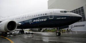 Un nuevo problema de producción deja a más de 60 aviones de 737 MAX de Boeing en tierra