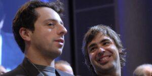 Los fundadores de Google, Larry Page y Sergey Brin, se convierten en 2 de los únicos 8 multimillonarios con más de 100,000 mdd en el mundo