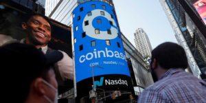 Coinbase se valora en 86,000 millones de dólares en su debut en el Nasdaq