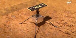 ¡El Ingenuity hace historia! Completa con éxito el primer vuelo en Marte
